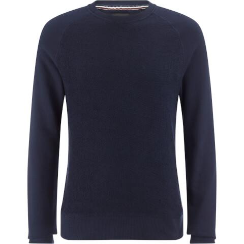 Produkt Men's Knit Raglan Crew Neck Sweatshirt - Navy Blazer