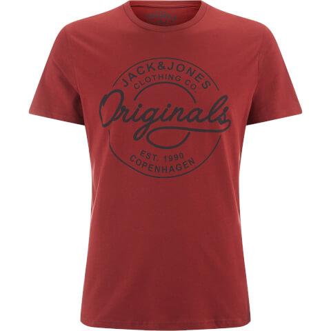 Jack & Jones Men's Originals Bone T-Shirt - Syrah
