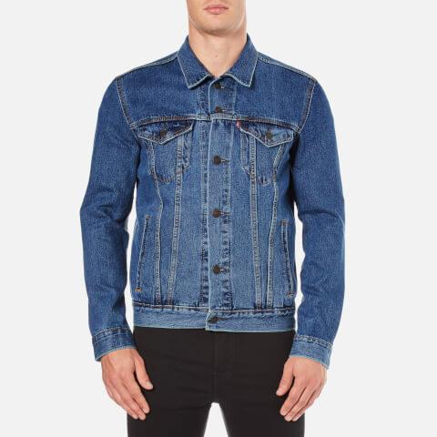 Levi's Men's The Trucker Jacket - Med Stonewash