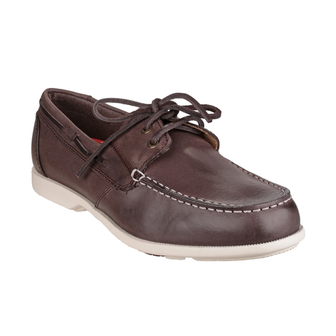 Rockport Men's Summer Sea 2-Eye Boat Shoes - Dark Brown