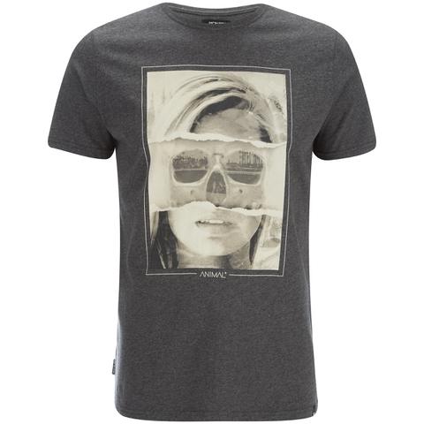 Animal Men's Faced T-Shirt - Dark Charcoal Marl