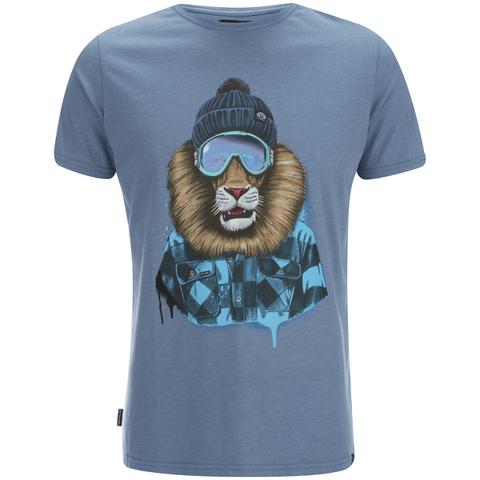 Animal Men's Skoar T-Shirt - Cadet Navy Marl