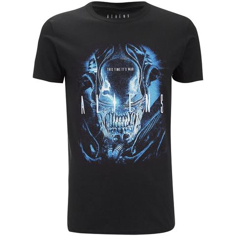Aliens Men's This Time It's War T-Shirt - Black