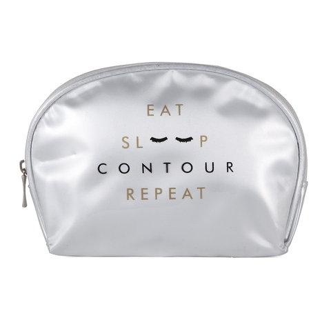 Contour Cosmetics Make Up Bag - Eat, Sleep, Contour, Repeat