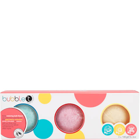 Bubble T Bath & Body - Bath Fizzer Gift Set