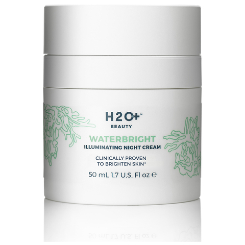 H2O+ Beauty Waterbright Illuminating Night Cream 1.7 Oz