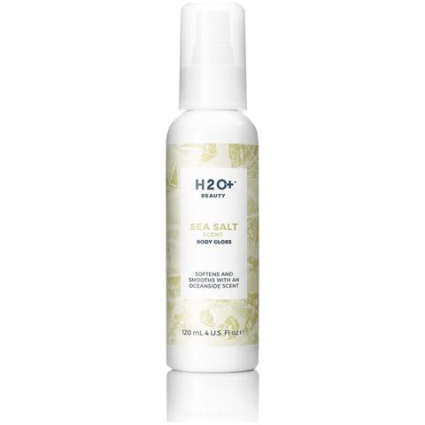 H2O+ Beauty Sea Salt Scented Body Gloss 4 Oz