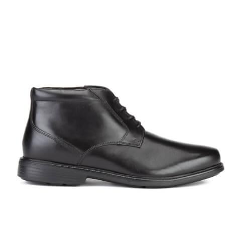 Rockport Men's Charles Road Plaintoe Chukka Boots - Black