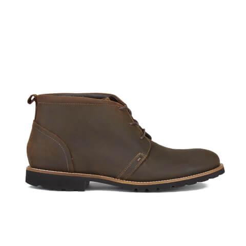 Rockport Men's Sharp & Ready Charson Chukka Boots - Dark Brown