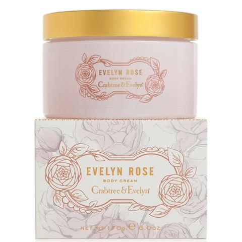 Crabtree & Evelyn Evelyn Rose Body Cream 170g
