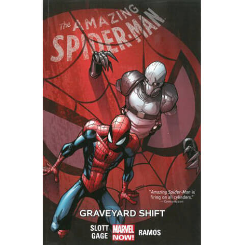 Amazing Spider-Man: Graveyard Shift - Volume 4 Graphic Novel