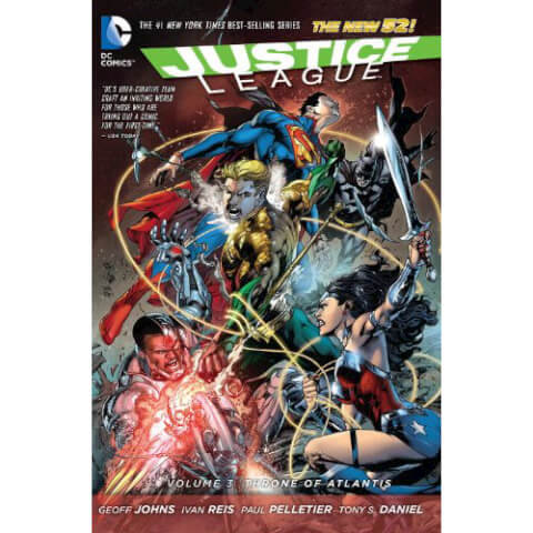 Justice League: Throne of Atlantis - Volume 3 Graphic Novel