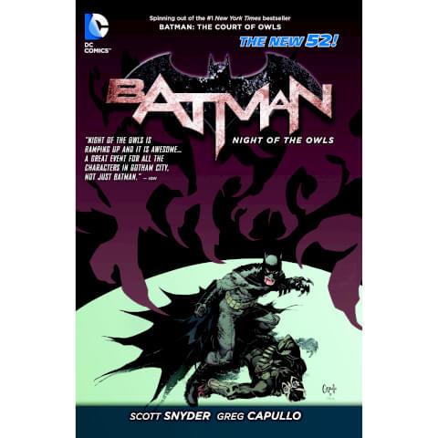 Batman: Night of the Owls Graphic Novel