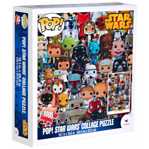 Star Wars Pop! Jigsaw Puzzle Collage 1000 pieces