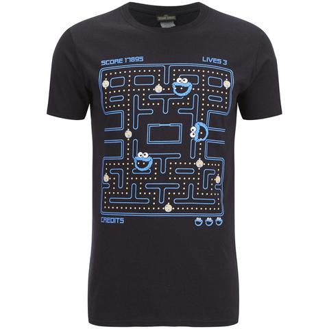 Cookie Monster Men's Gaming Cookie Monster T-Shirt - Black