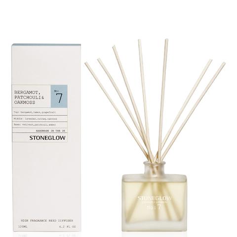 Stoneglow Modern Apothecary No. 7  Reed Diffuser - Bergamot, Patchouli and Oakmoss