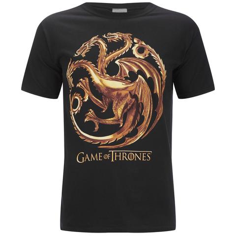 Game of Thrones Men's Targaryen Sigil T-Shirt - Black