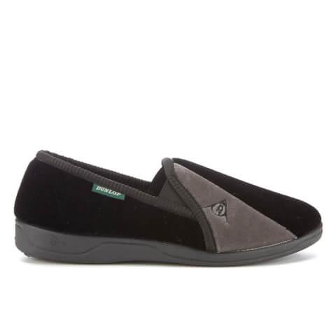 Dunlop Men's Duncan Slippers - Black