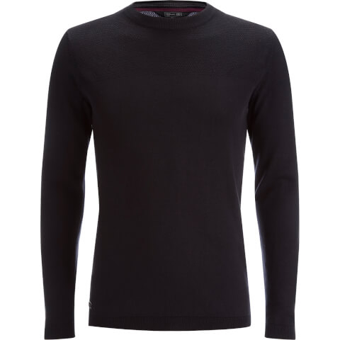 Dissident Men's Stelios Crew Neck Jumper - Black