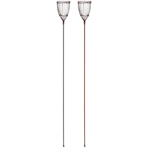 Nkuku Kamla Garden Lanterns Set of 2
