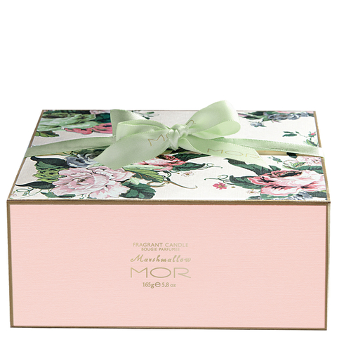 MOR Fragrant Tea Cup Candle 165g - Marshmallow