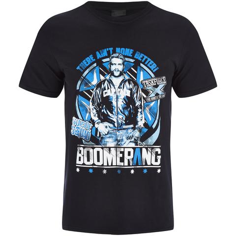 DC Comics Suicide Squad Men's Boomerang T-Shirt - Black