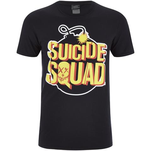 DC Comics Suicide Squad Men's Bomb T-Shirt - Black