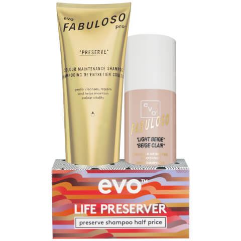 Evo Fabuloso Life Preserver Shampoo Set