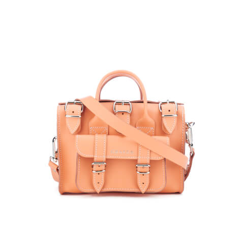 Grafea Women's Baby Luna Leather Shoulder Bag - Peach