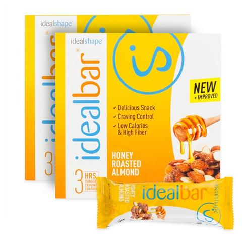 IdealBar 2 Boxes Honey Roasted Almond