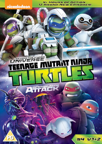 Teenage Mutant Ninja Turtles: Beyond The Known Universe & Intergalactic Attack (S4, V1 & V2)