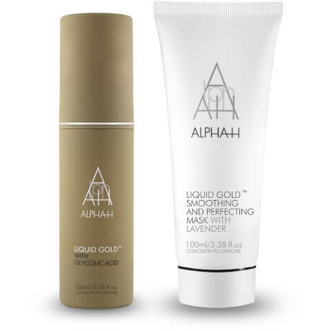 Alpha-H Liquid Gold Ultimate Resurfacing Duo (Worth £80.50)