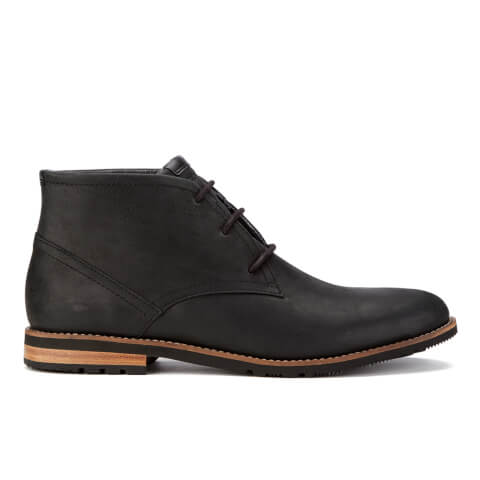 Rockport Men's Ledge Hill Suede Lace Up Chukka Boots - Black