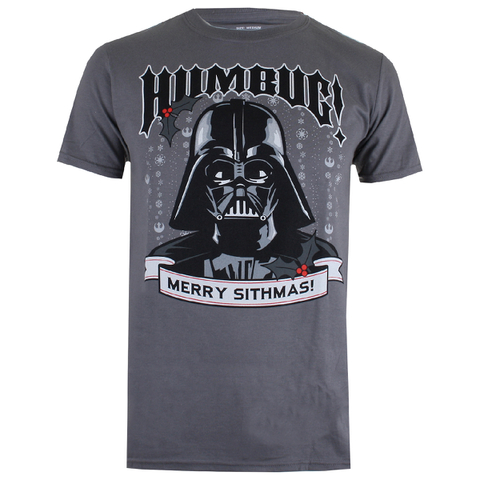 Star Wars Men's Merry Sithmas T-Shirt - Charcoal