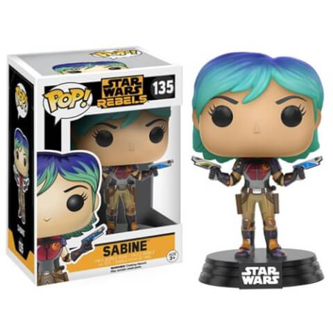 Star Wars Rebels Sabine Funko Pop! Bobblehead Figuur
