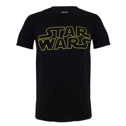 Star Wars Boys' Logo T-Shirt - Black