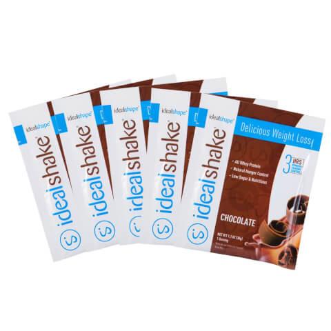 5 IdealShake Chocolate Samples