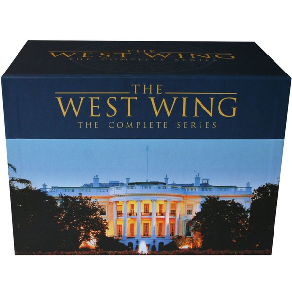 the west wing seasons 1 7 complete box set dvd. Black Bedroom Furniture Sets. Home Design Ideas