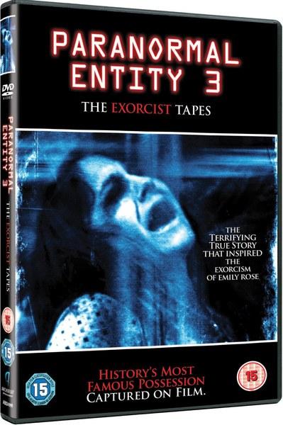 Paranormal Entity 3 The Exorcist Tapes Dvd Zavvi