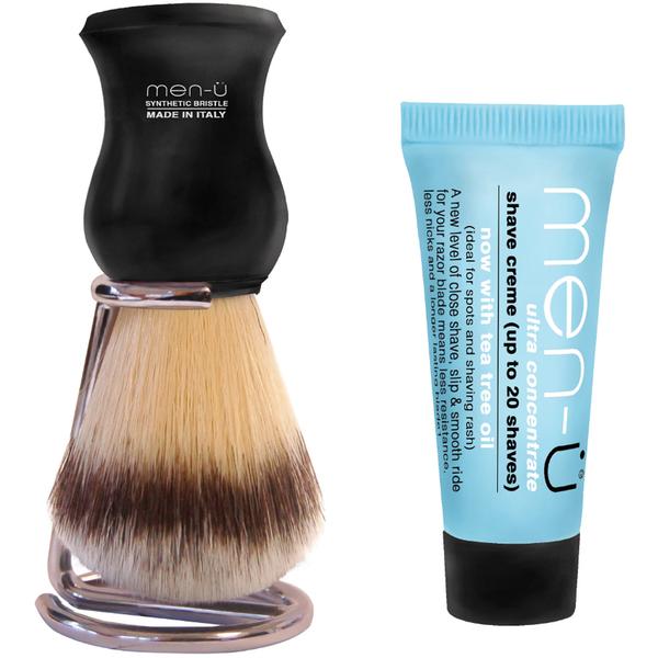 men-ü DB Premier Shave Brush with Chrome Stand - 黑色