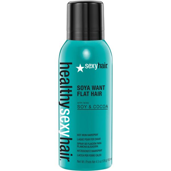 Sexy Hair Healthy Soya WantFlatHairHitzeschutz150ml