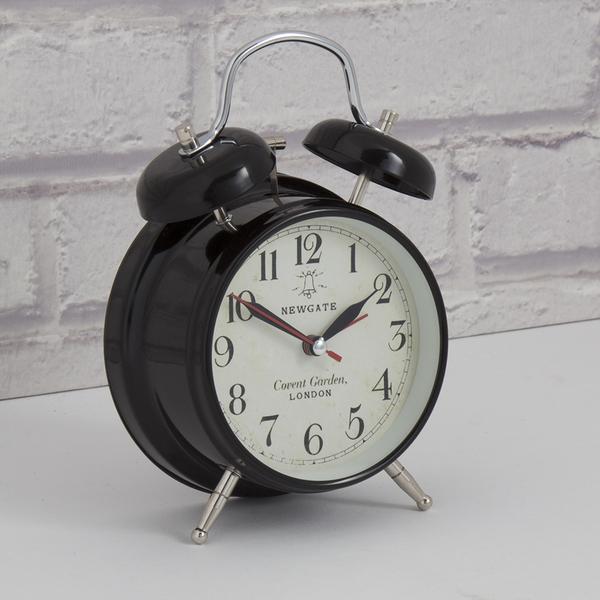 Newgate Covent Garden Medium Clock - Black