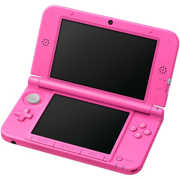 nintendo 3ds xl pink nintendo uk store. Black Bedroom Furniture Sets. Home Design Ideas