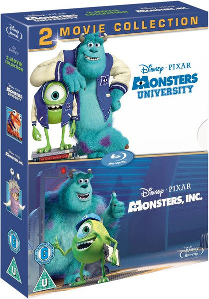 hasbro_Monsters, Inc. / Monsters University Blu-ray   Zavvi