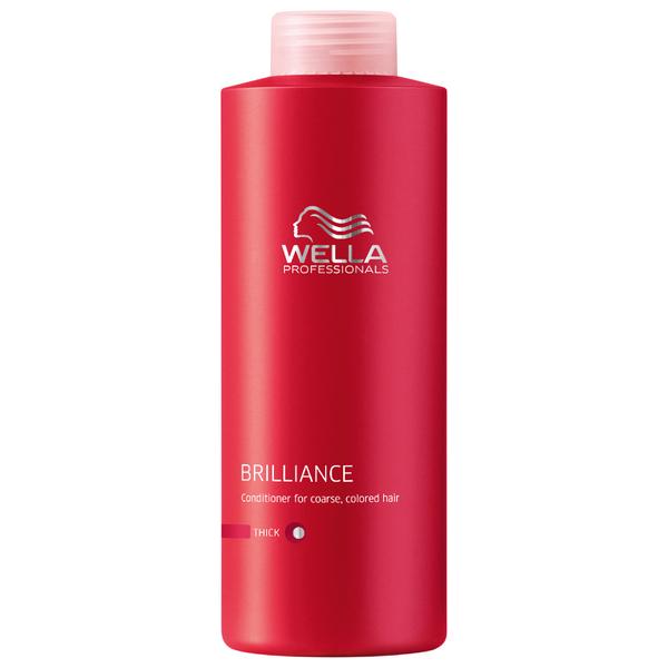 Acondicionador cabello grueso teñido Wella Professionals Brilliance (1000ml)