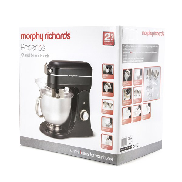 Morphy Richards Red Kitchen Accessories: Morphy Richards 400008 Professional Diecast Stand Mixer