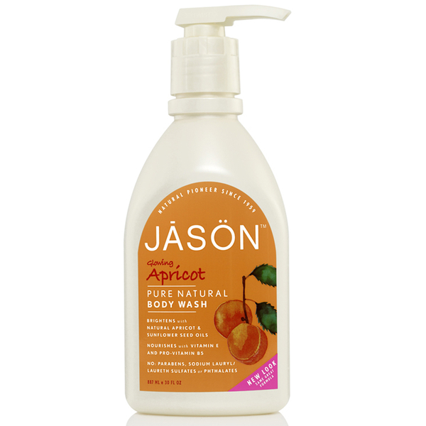 JASON Glowing Apricot Body Wash 887 ml