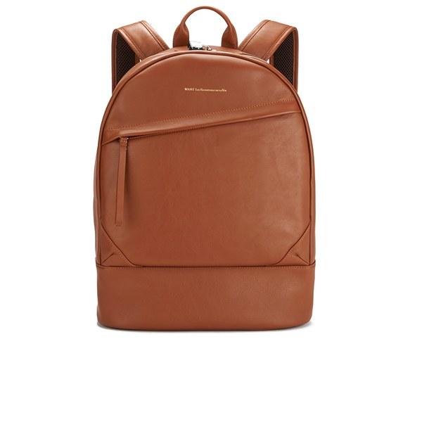 WANT LES ESSENTIELS Men's Kastrup Backpack - Cognac
