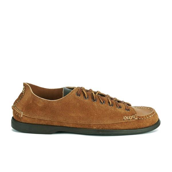 Yuketen Men's Suede Sneaker/Moccasin Shoes - Brown