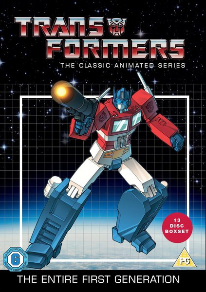 Transformers: Classic Animated Collection DVD | Zavvi